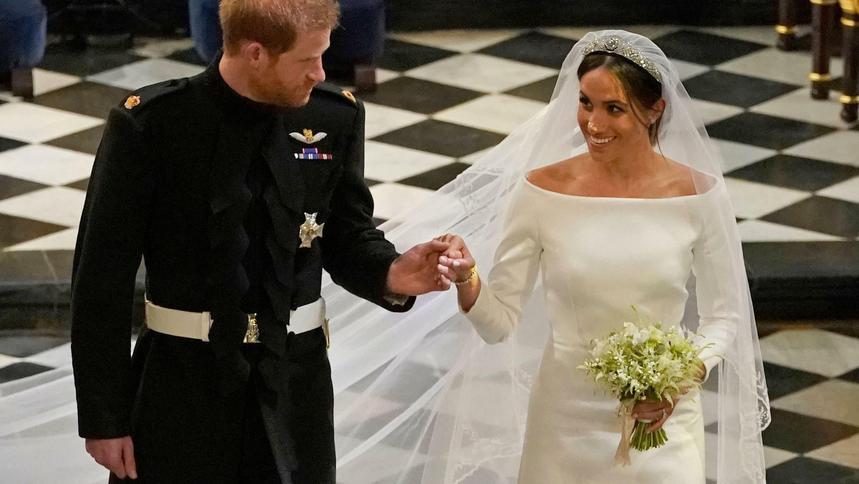 Suknia ślubna Meghan Markle To Plagiat