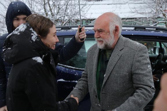 Aleksandar Berček i Dunja, ćerka Emira Kusturice