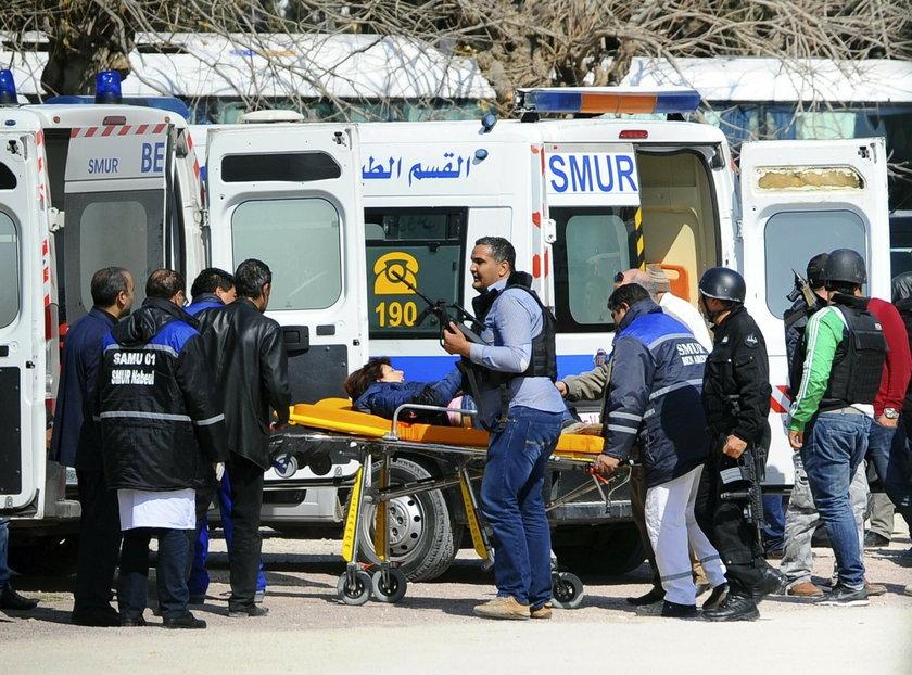 Zamach terrorystyczny na Muzeum w Tunisie.