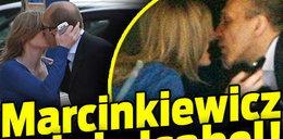 Marcinkiewicz całuje Isabel!