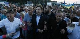 Saakaszwili przekroczył granicę. Jest już na Ukrainie