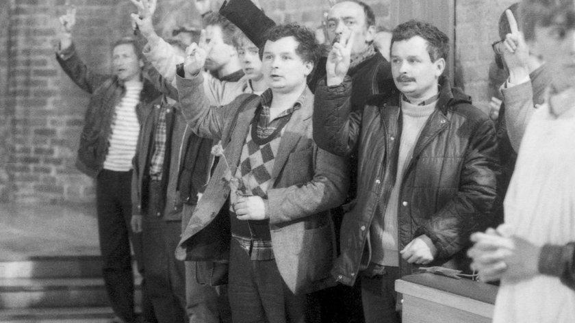 Bracia Kaczyńscy w kotle ORMO. O włos od tragedii