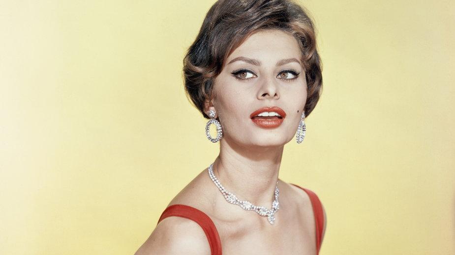 Sophia Loren w 1955 r.