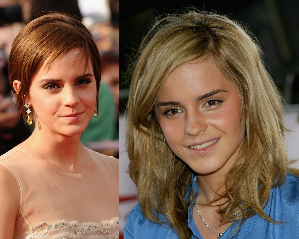 Krótkie fryzury - Emma Watson