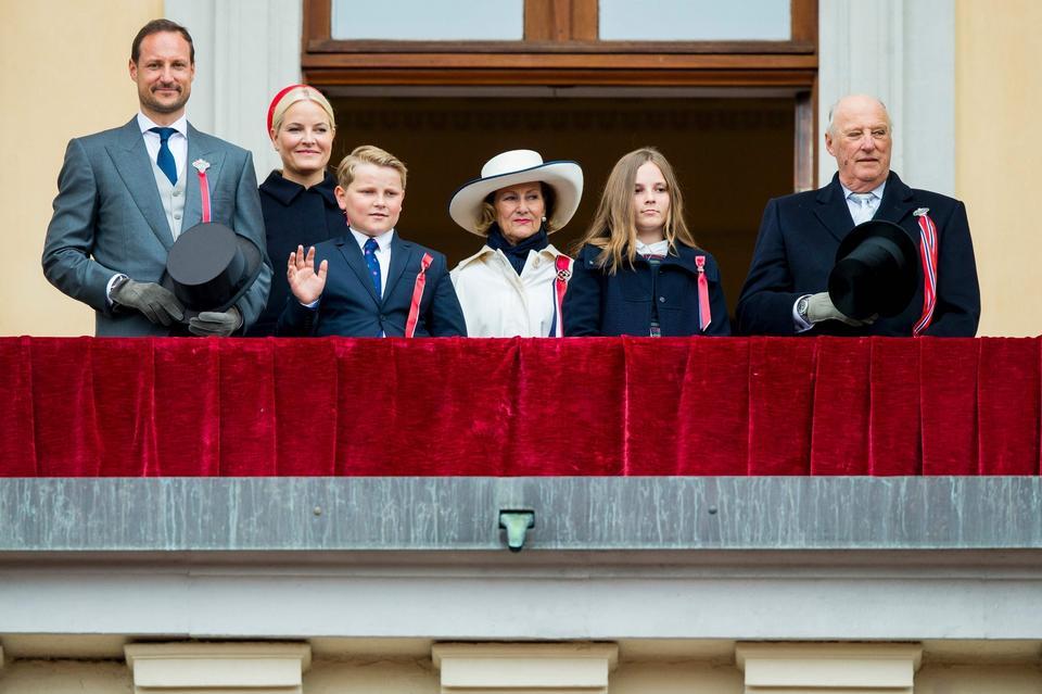 Księżniczka Ingrid i książę Sverre