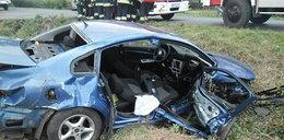 Zderzenie aut pod Gnieznem. Ucierpiały 4 osoby