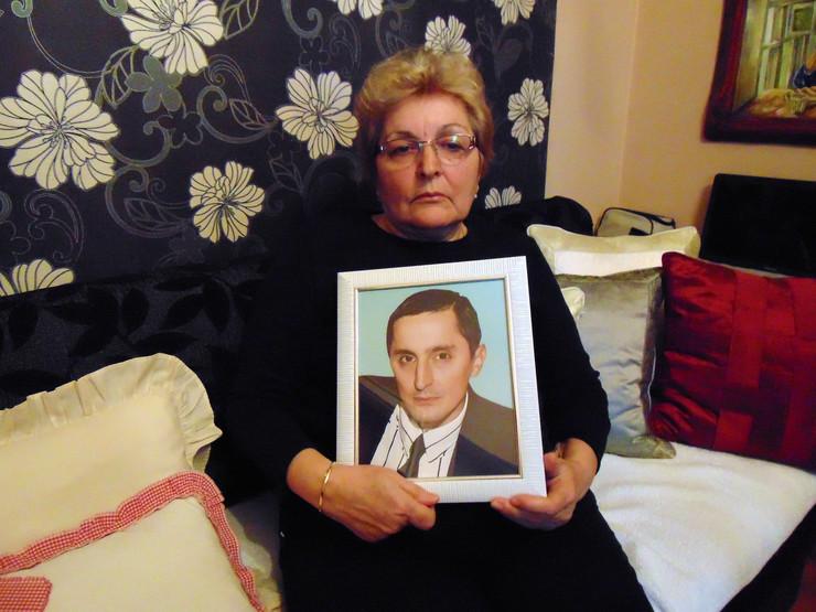 NIS02 Ljiljana Miljkovic majka preminulog Bratislava Milojevica foto Branko Janackovic