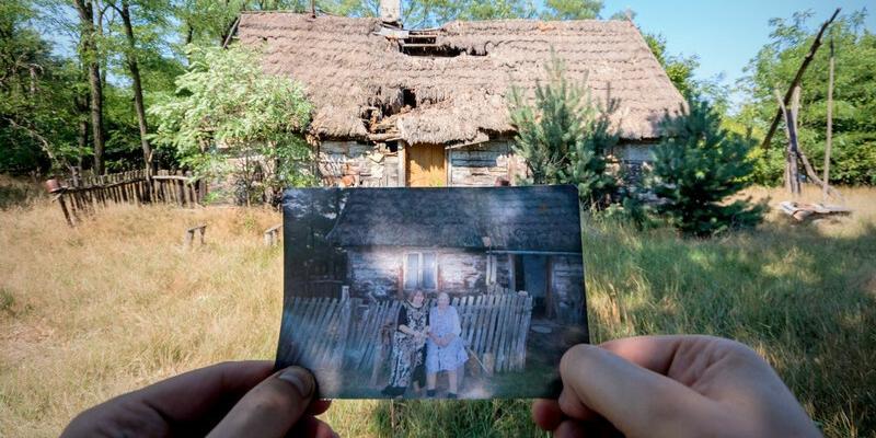 Opuszczona chata, w której zatrzymał się czas