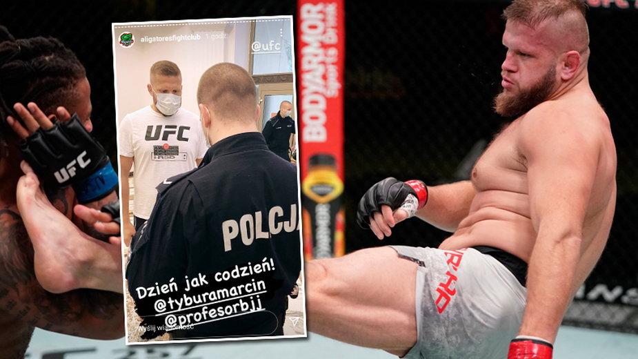 """Ponowne naloty policji na klub sportowy. Zawodnik UFC został spisany. """"To zabijanie kolejnego przedsiębiorstwa"""""""