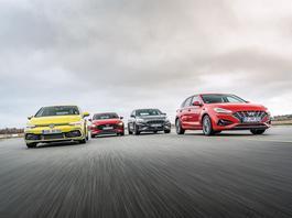 Ford Focus kontra Mazda 3, Hyundai i30 i Volkswagen Golf - który będzie lepszym wyborem?