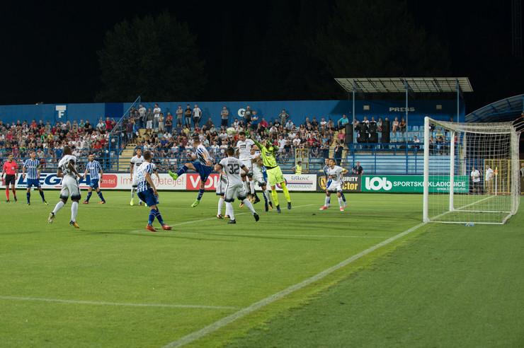 FK Budućnost, FK Partizan
