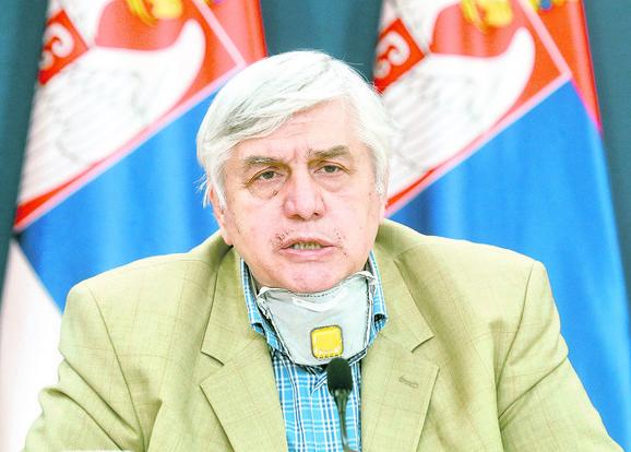 Oprez: Dnevni broj novozaraženih odraz je našeg ponašanja, opominje  dr Branislav Tiodorović
