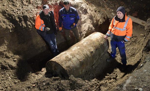 Bombę znaleziono na placu budowy w centrum miasta