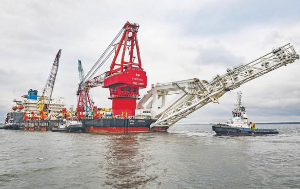 """Zamiast statku """"Akadiemik Czerskij"""" rurę na dnie Bałtyku ma układać rosyjska barka """"Fortuna"""""""