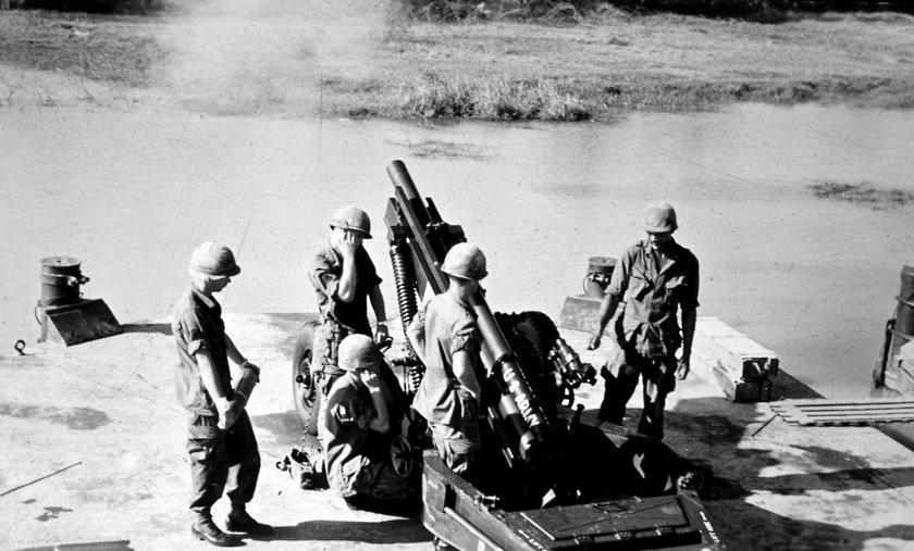 2. Incydent w Zatoce Tonkijskiej. USA wymyśliły sobie, że zaatakowano ich lotniskowce, by mieć pretekst do wojny