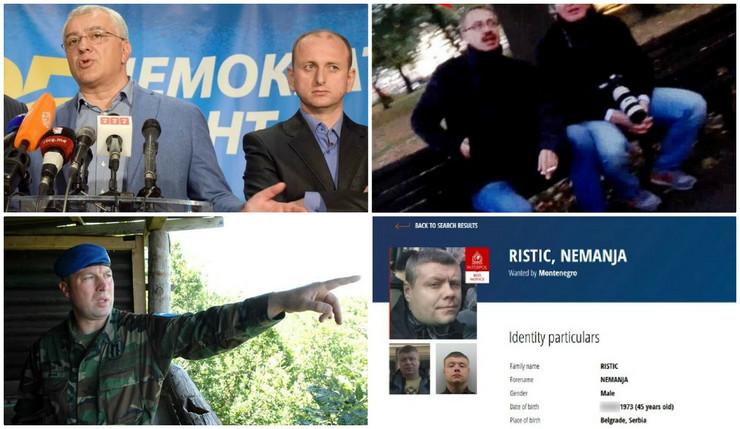 Državni udar Crna Gora kolaž