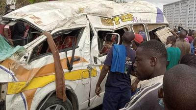 3 Dead in early morning accident in Mombasa (Photos)