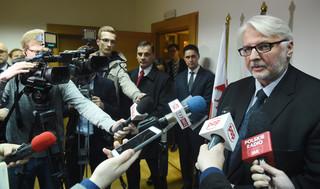 Czarna lista Waszczykowskiego. Szef ukraińskiego IPN nie wjedzie do Polski