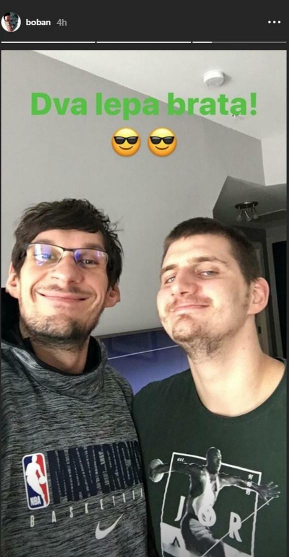 Bobi Marjanović i Nikola Jokić