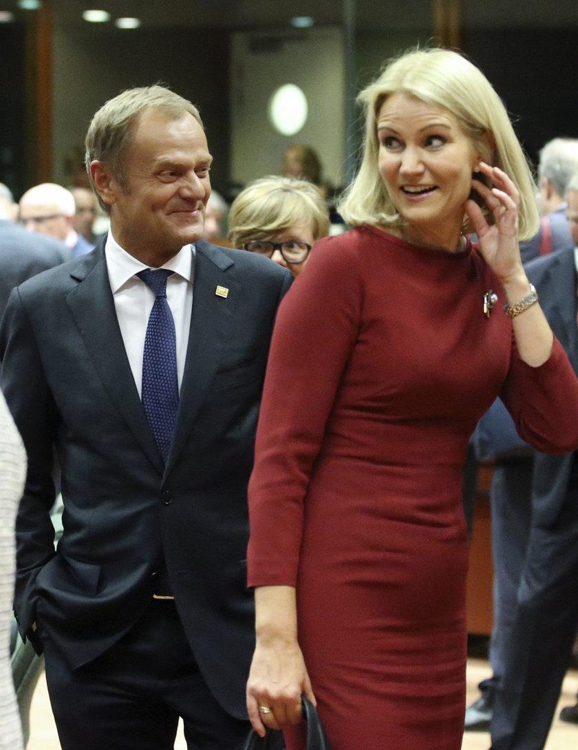 Na jej wdzięki nie był obojętny nawet sam Donald Tusk.