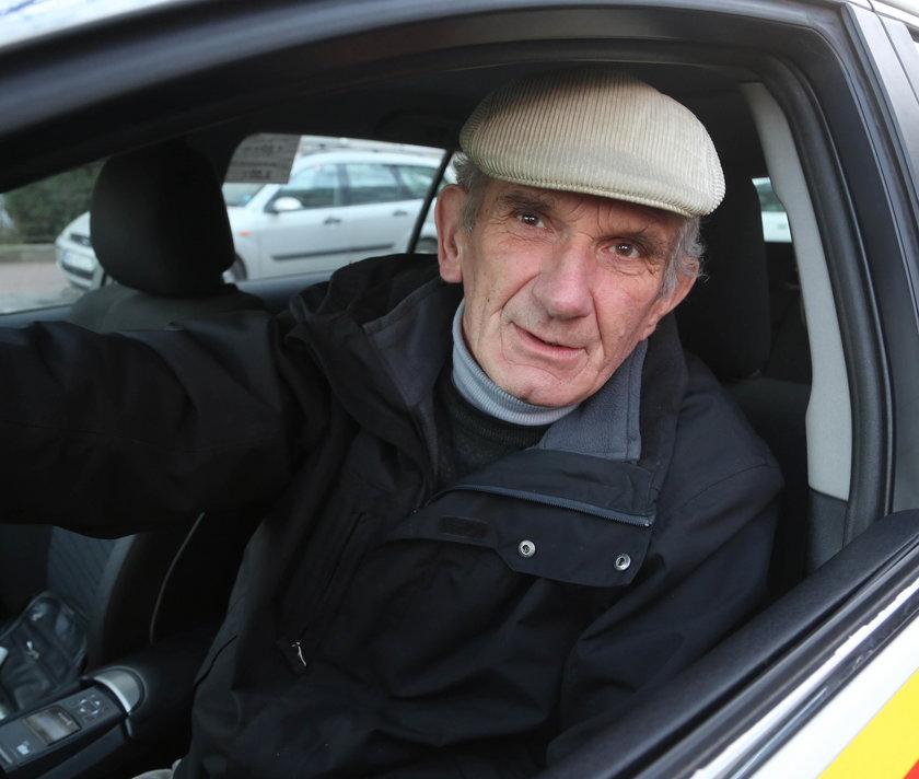 Janusz Wiśniewski (66 l.), kierowca