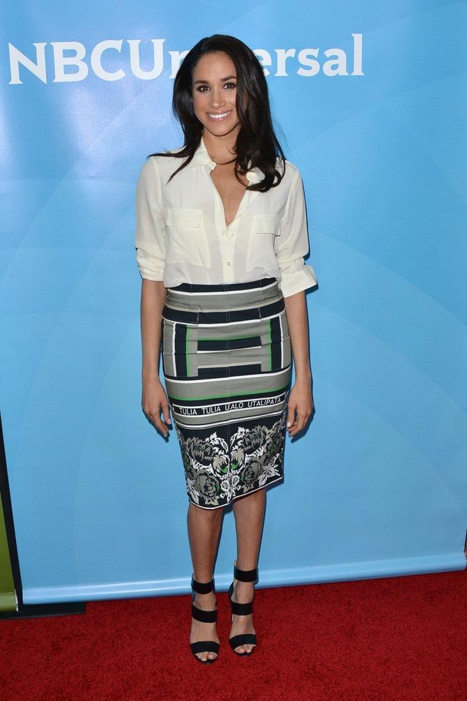 Sličnu suknju nosila je i Megan