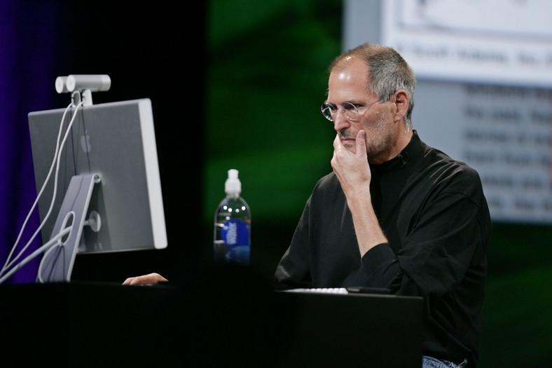 Legendarny szef firmy Apple walczył z nowotworem
