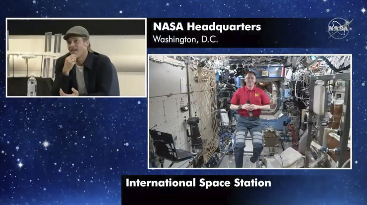 Bred Pit, NASA