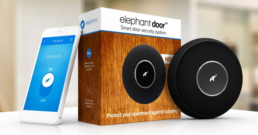 Alarm domowy Elephant powstał wskutek doświadczeń założycieli startupu. Mieszkanie jednego z ich kolegów zostało obrabowane