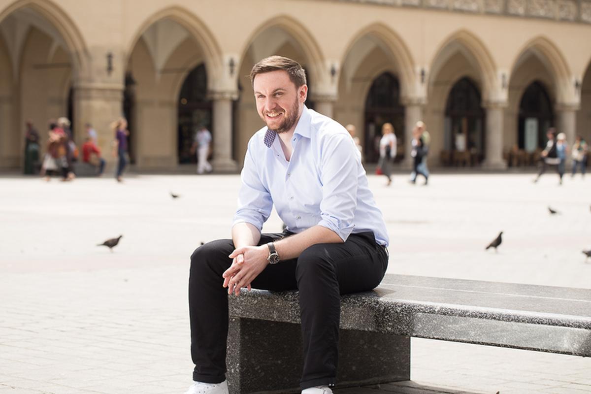 Michał Borkowski, CEO Brainly. W Polsce portal funkcjonuje pod nazwą Zadane.pl