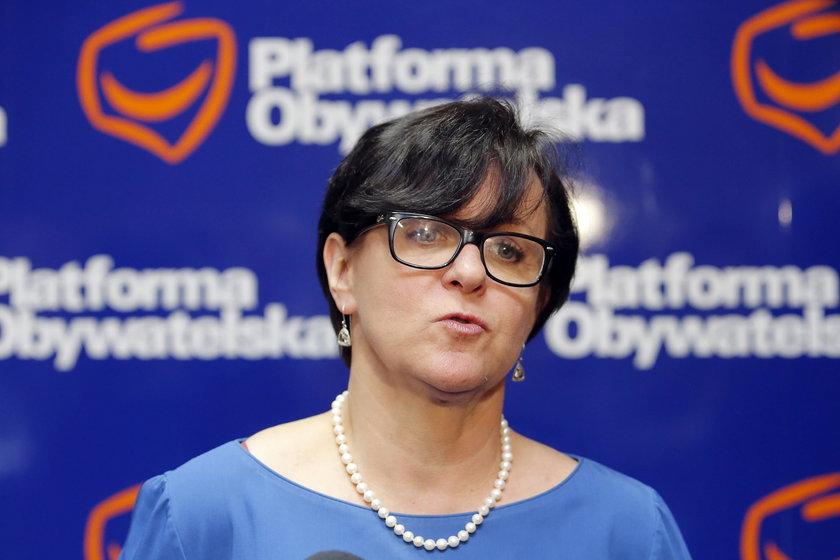 Joanna Kluzik-Rostkowska kierowała sztabem wyborczym Jarosława Kaczyńskiego w 2010 roku