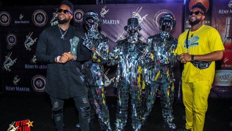 Nasty C, Phyno, Wande Coal thrill guests at the 1st ever 3D concert with Remy Martin