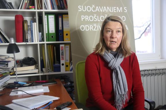 Vesna Teršelič, direktorka NVO