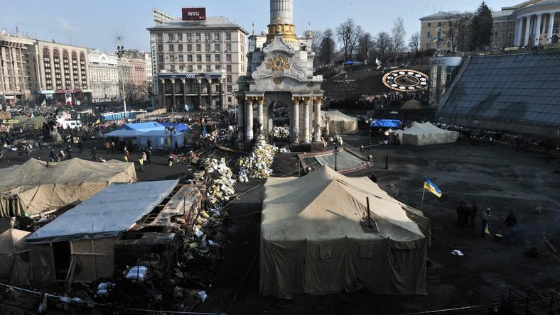 Majdan po zamieszkach