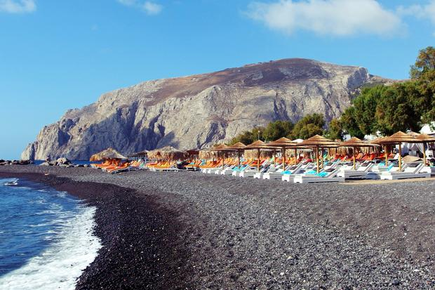 Kamari, Santorini, Grecja
