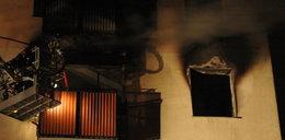 Nocny pożar mieszkania. Trzy osoby w szpitalu