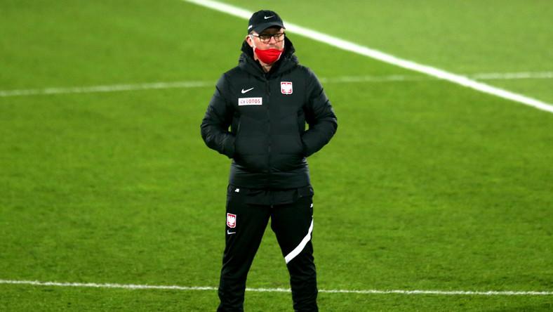 Selekcjoner piłkarskiej reprezentacji Polski Jerzy Brzęczek