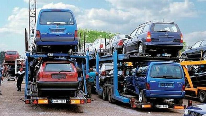 Samochody sprowadzane z Niemiec