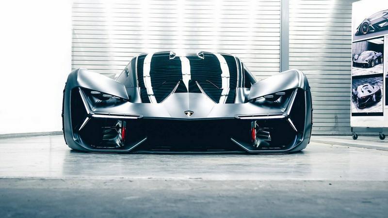 Lamborghini Terzo Millennio Concept – trzecie tysiąclecie