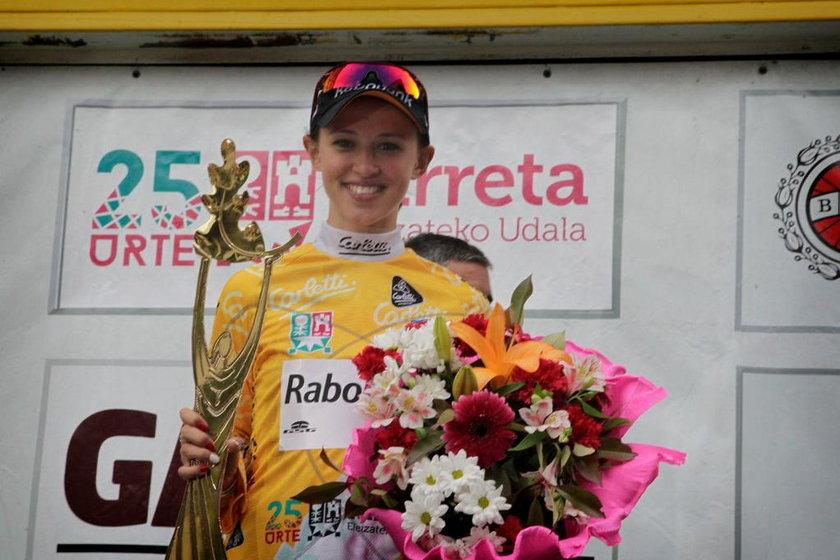 Katarzyna Niewiadoma wygrała wyścig w Kraju Basków!