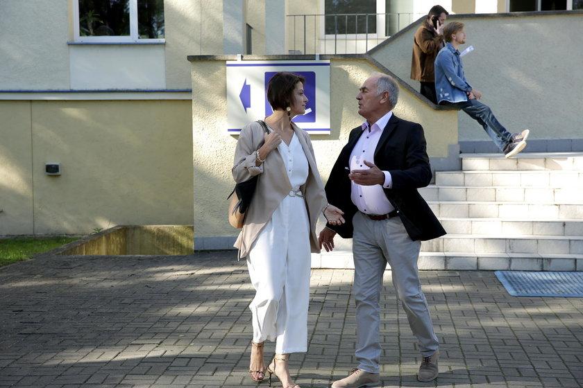 Karol Strasburger i Alżbeta Lenska