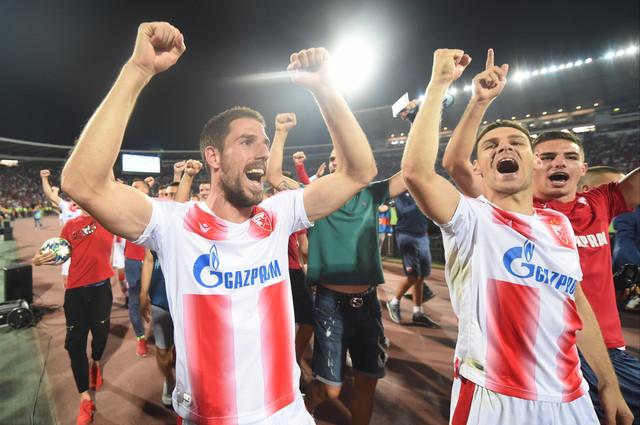 Fudbaleri Crvene zvezde su znali kako da proslave plasman u Ligu šampiona, a sada je vreme da saznaju i rivale u grupi