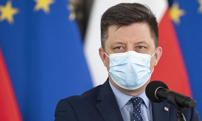 Szef KPRM Michał Dworczyk.
