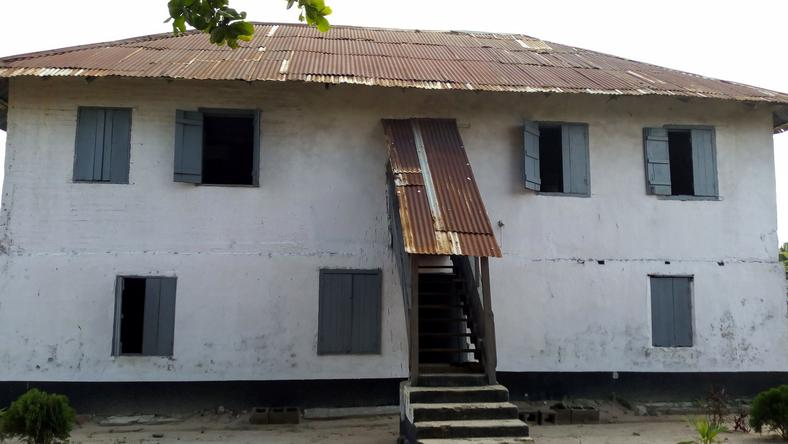 First Storey Building in Nigeria