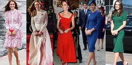 Rok 2016 należał do niej. Najlepsze kreacje księżnej Kate
