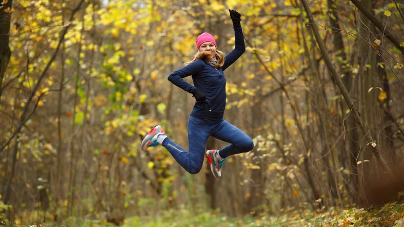 Jesienny trening na świeżym powietrzu