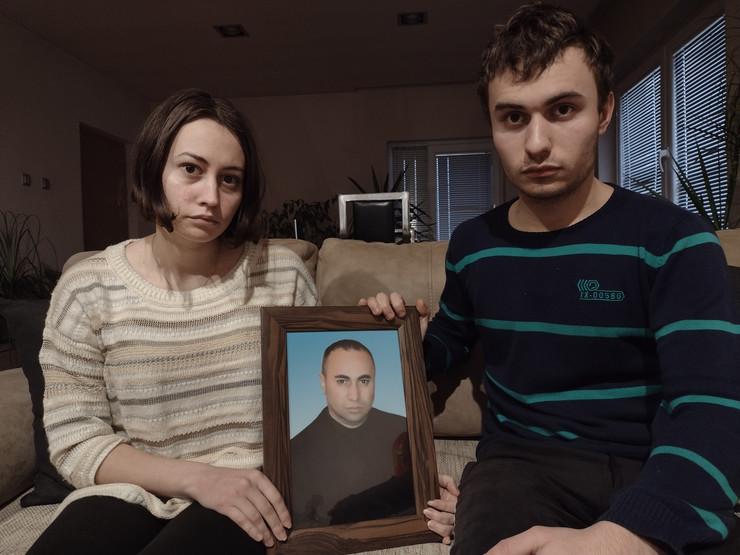 Gabrijela i Antonio Ilić, ćerka i sin nastradalog Dejana Ilića