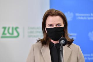 Uścińska: Ponad 13 mld zł na zwolnienie ze składek ZUS