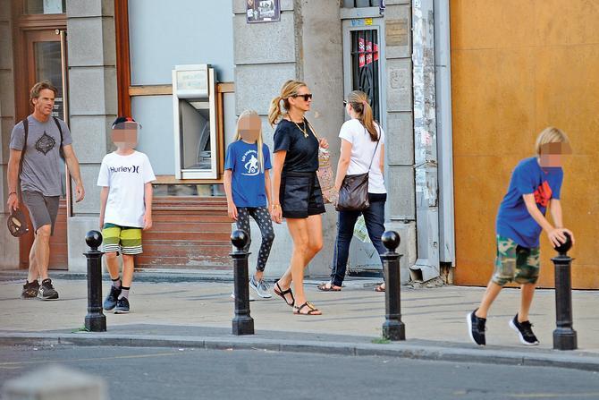 Džulija Roberts sa decom u Beogradu