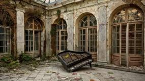 Opuszczony pałac w Bratoszewicach wg projektu Juliusza Nagórskigo